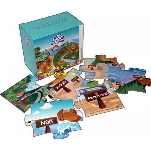 The Giant Journey (Floor Puzzle) 3rd Edition