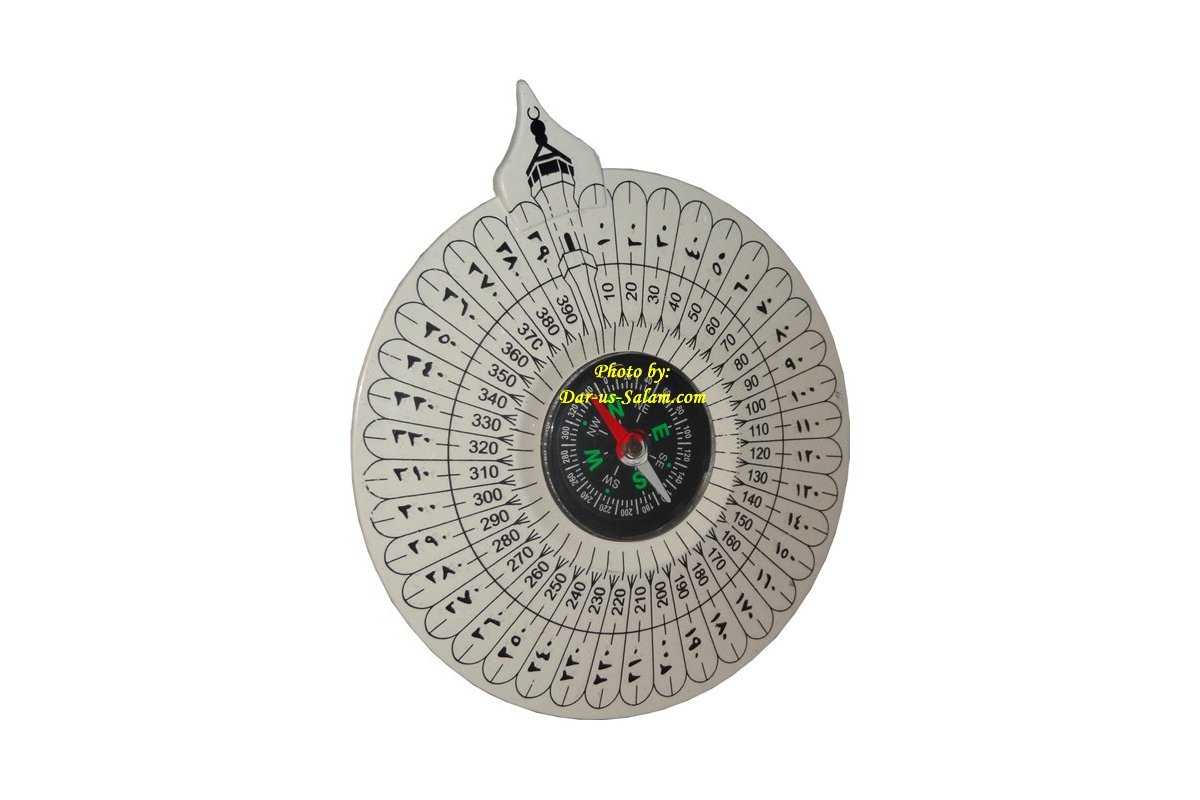 Qiblah Compass for Prayer Rug