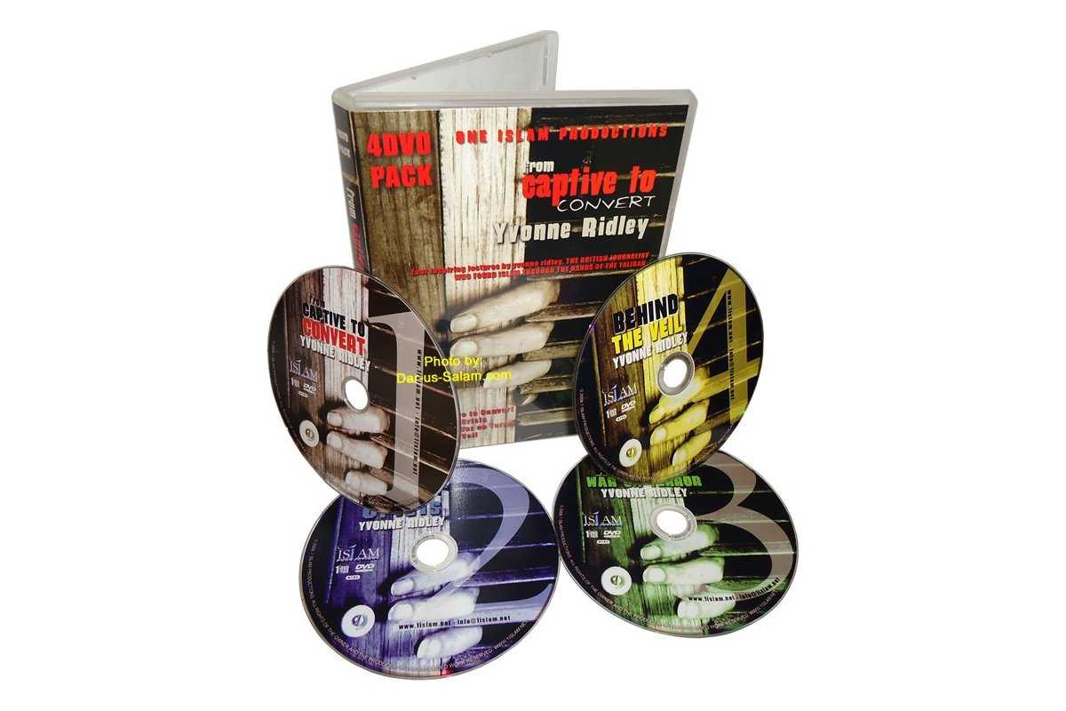 From Captive to Convert (4 DVDs)