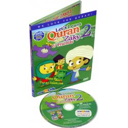 Let's Learn Quran with Zaky & Friends PART 2 (DVD)