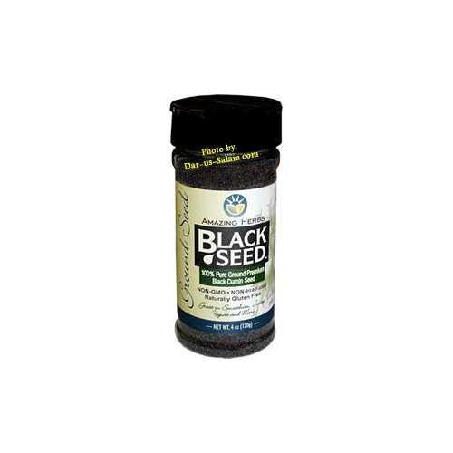 Black Seed Ground Herb (4oz shaker)