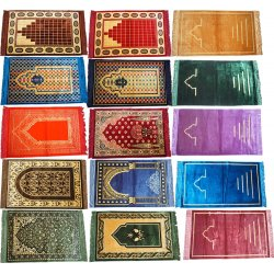 High Quality Prayer Rug with Cut work