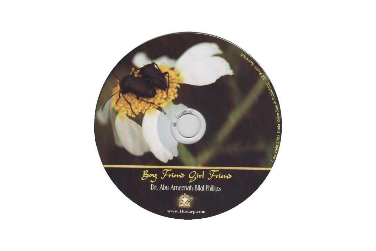Boy Friend, Girl Friend (CD)