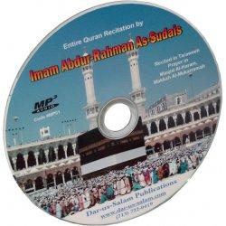 Quran Recitation by Abdul Rahman Sodais (Mp3 CD)
