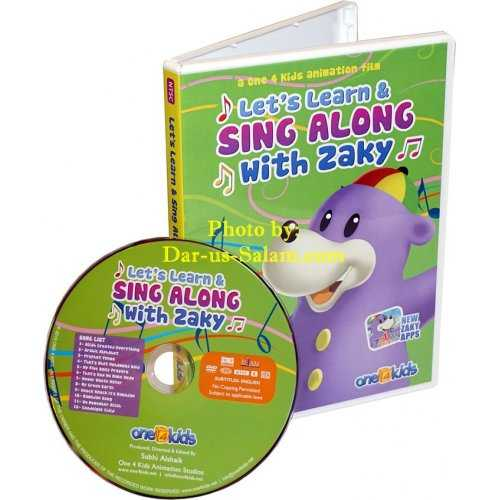 Let's Learn and Sing Along with Zaky (DVD)