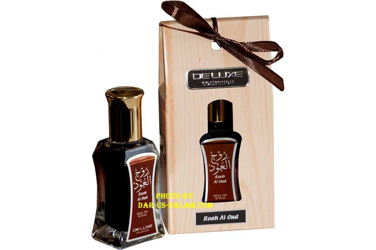 Deluxe Itr Perfume: Rooh Al Oud (24ml)