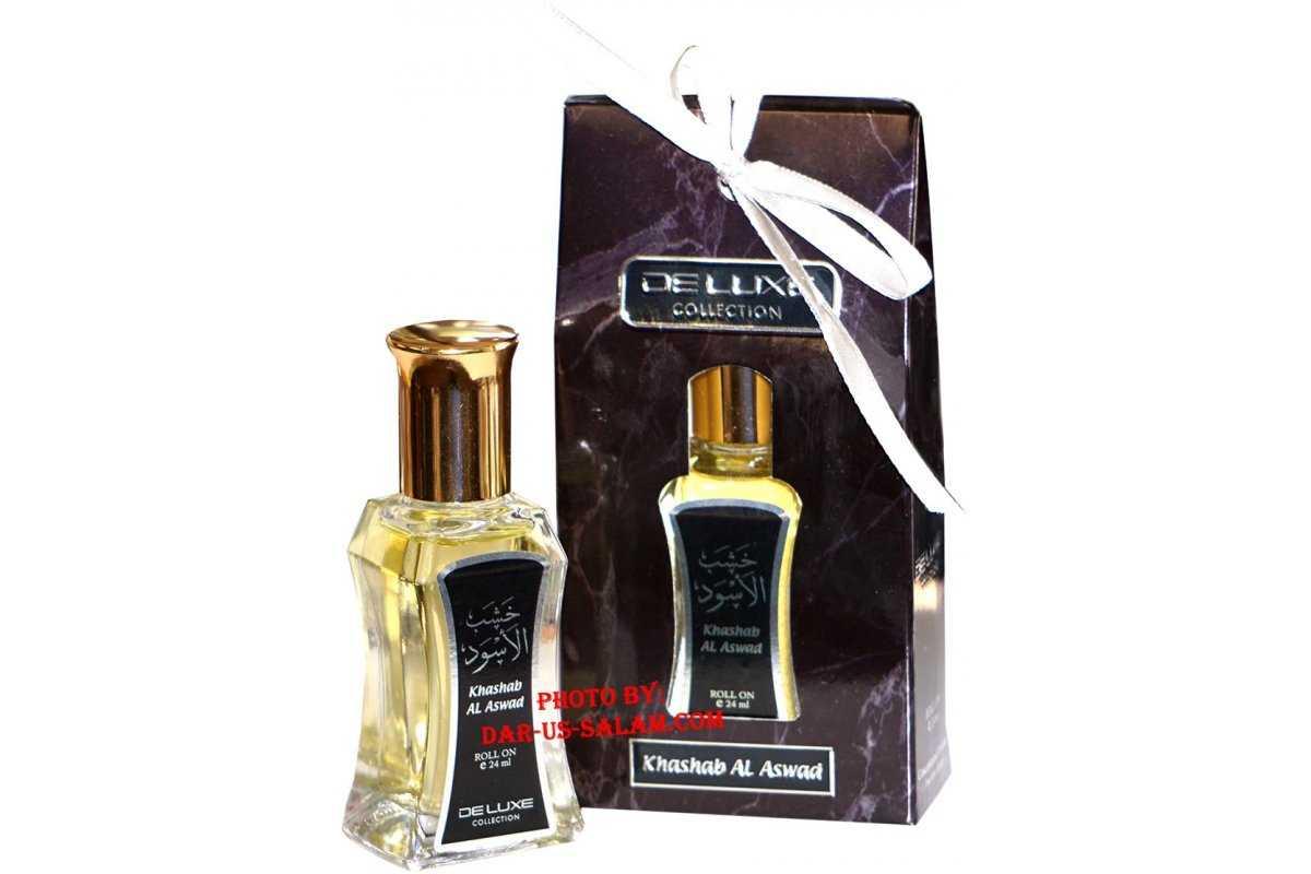Deluxe Itr Perfume: Khashab Al-Aswad (24ml)