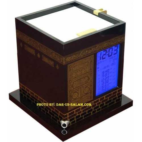 Kaba Model Azan Clock AC-2028 with 2000 Cities