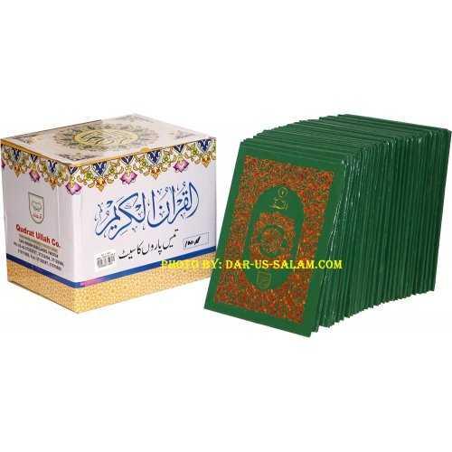 30 Separate Parts Indo-Pak Script 9 Line (HB 100A)