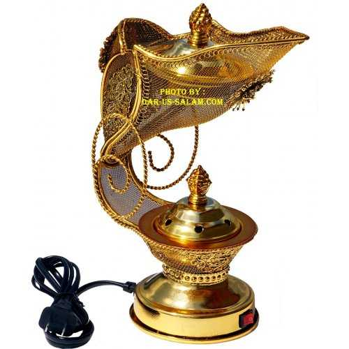 Electric & Charcoal Incense Burner (2 in 1)