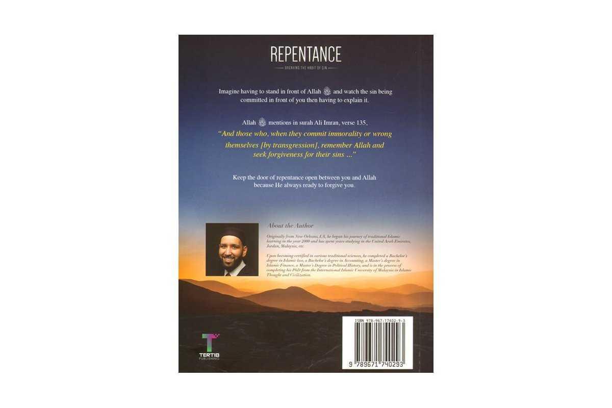 Repentance - Breaking the Habit of Sin
