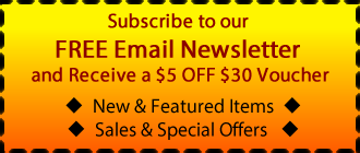 Subscribe to our FREE Email Newsletter